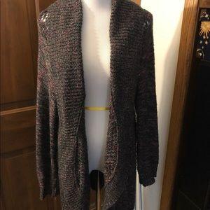 Torrid multi color sweater sz 1